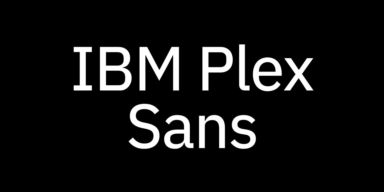 Complete Guide to IBM Plex Sans • Beautiful Web Type