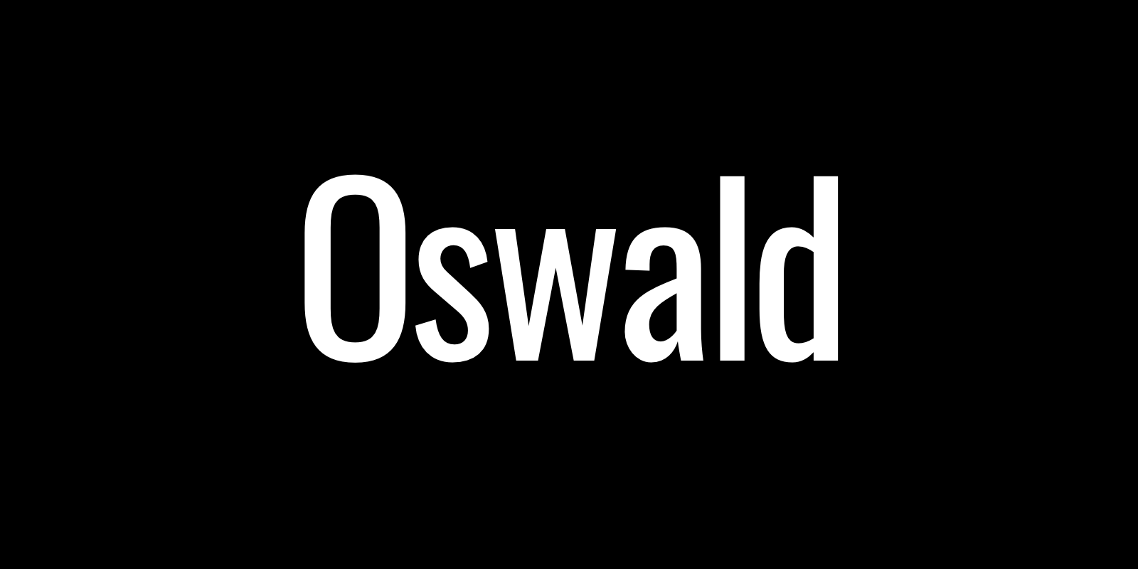 Complete Guide to Oswald • Beautiful Web Type