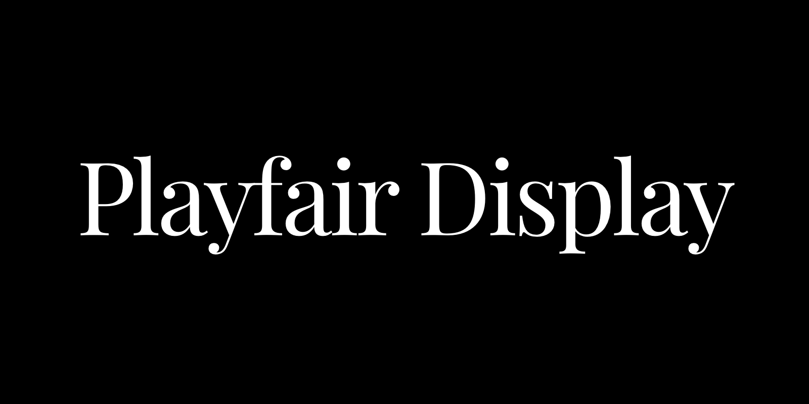 Complete Guide to Playfair Display • Beautiful Web Type